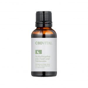CBDVITAL – Schlaftropfen mit Hanf und Melatonin